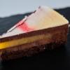 csokoládé mousse torta mangózselével