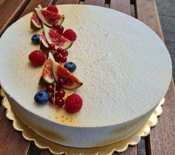 túró mousse torta